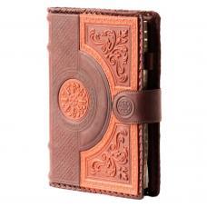 Ежедневник большой. Цвет коричнево-оранжевый. Арт. 008-08-41