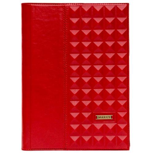 Ежедневник большой. Цвет красный. Арт. 008-08-44