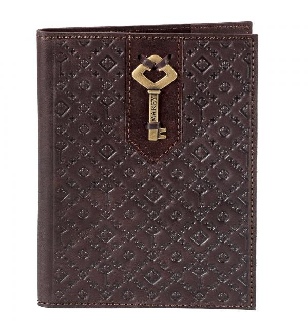 Обложка для паспорта. Цвет бордо. Арт. 009-08-31