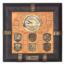 Часы. Цвет коричневый. Арт. 045-07-12