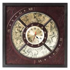 Часы. Цвет бордо. Арт. 045-11-01