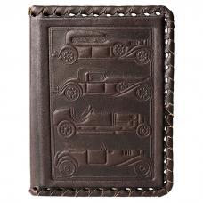 Обложка для водительского удостоверения. Цвет коричневый. Арт. 003-07-12