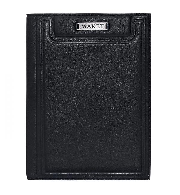 Обложка для паспорта. Цвет чёрный. Арт. 009-08-47