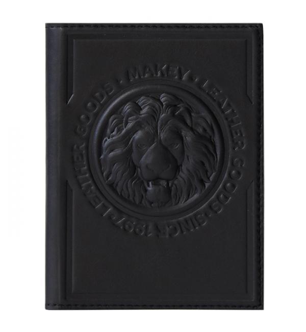 Обложка для паспорта. Цвет чёрный. Арт. 009-08-51