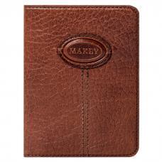 Обложка для паспорта. Цвет тоскана. Арт. 009-08-55