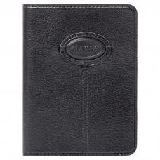 Обложка для паспорта. Цвет чёрный. Арт. 009-08-55