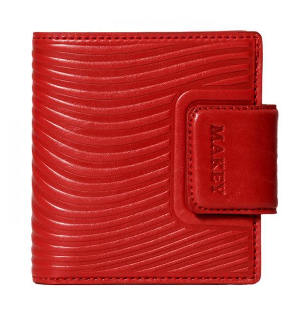 Кошелек mini. Цвет красный. Арт. 142-08-54